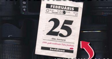 Talsu fotokluba pastāvēšanas 18.gada izstādes atklāšana 25.februārī plkst.16.00