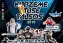 """""""Kurzeme tusē Talsos 2016"""" 6. augustā, plkst. 21.30"""