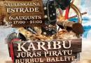 """""""Pirātu burbuļballīte bērniem"""" 6.augustā, plkst.17.00"""