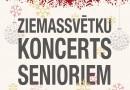 Ziemassvētku koncerts senioriem 15.decembrī plkst.14:00