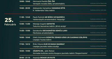 """Latvijas amatierteātru iestudējumu skate """"Gada izrāde 2016"""" Kurzemes reģiona skate"""