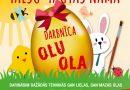 """11. aprīlī plkst. 18:00 radošajā sētā darbnīca """"Olu ola"""""""