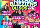 """20.maijā plkst. 14.00  Sauleskalna estrādē,lielkoncerts """"LIELAIS BLIEZIENS TALSOS 2017"""""""