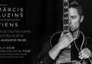 """11. augustā plkst. 19:00 ģitārists Mārcis Auziņš ar koncertprogrammu """"Viens"""" Radošajā sētā"""
