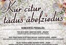 """26.maijā plkst. 16:00 Radošajā sētā koncerts """"Kur citur tādus ābeļziedus…"""""""