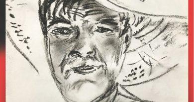 """No 2. septembra Talsu tautas nama 1. un 2. stāva foajē Raita Vulfa gleznu izstādes """"Sarkanais vējš"""""""