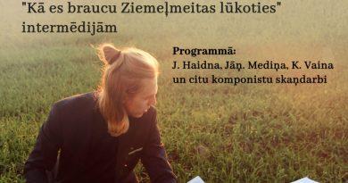 """23.novembrī plkst. 19:00 Artūra Liepiņa klavieru solokoncerts """"ZIEMEĻAUSMĀ"""""""