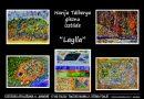 "Talsu Tautas nama 2. stāva foajē Harija Tālberga gleznu izstāde""Laylla"""