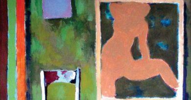 """Talsu tautas nama 2. stāva foajē Aleksandra Rappaporta izstāde""""Gleznas un glezniņas"""""""