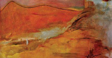 """No 2. februāra Talsu Tautas nama 1. un 2. stāva foajē skatāma Irīnas Ošlejas mākslas darbu izstāde """"Ceļotājs"""""""