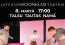 """8.martā plkst.17:00 Talsu Tautas namā Latvijas Nacionālā teātra izrāde """"Slaktiņa dievs"""""""