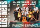"""26.septembrī plkst.18:00 Talsu Tautas namā spāņu un latino grupas """"LOS NENS"""" koncerts """"PASIÓN ESPAÑOLA"""""""