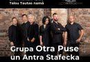 """27.novembrī plkst. 19.00 grupas""""Otra Puse"""" un Antras Stafeckas koncerts Talsu Tautas namā"""