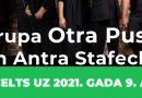"""PĀRCELTS!No 27.novembra uz 2021.gada 9.aprīli plkst. 19.00 grupas""""Otra Puse"""" un Antras Stafeckas koncerts Talsu Tautas namā"""